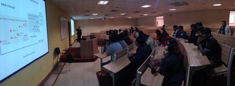 Desizn circle students in SOFD, GD Goenka