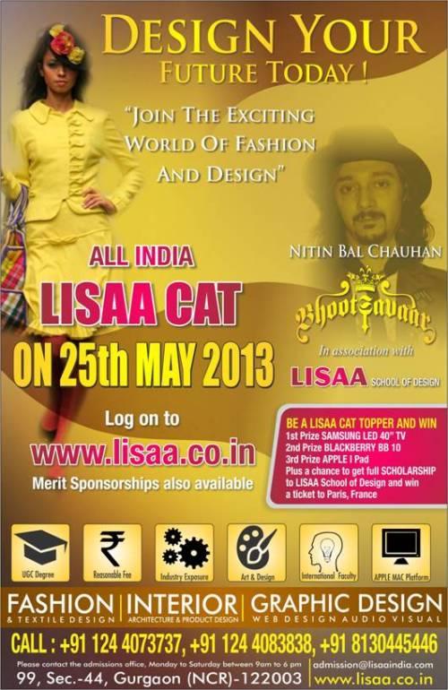 LISAA CAT 2013 !
