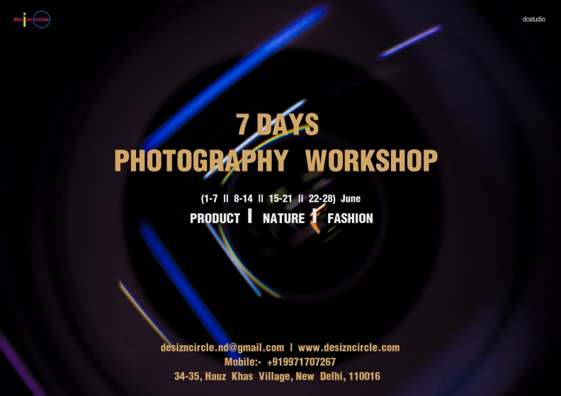 Desizn Circle Photography workshop