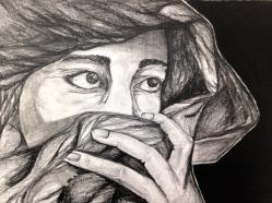 Portrait by Dinisha