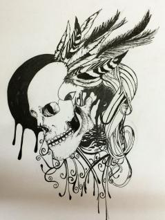 pen work by Kartik