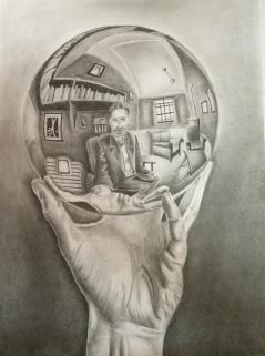 Pencil work by Aishwarya Jain